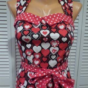 Modcloth retrolicious heart dress